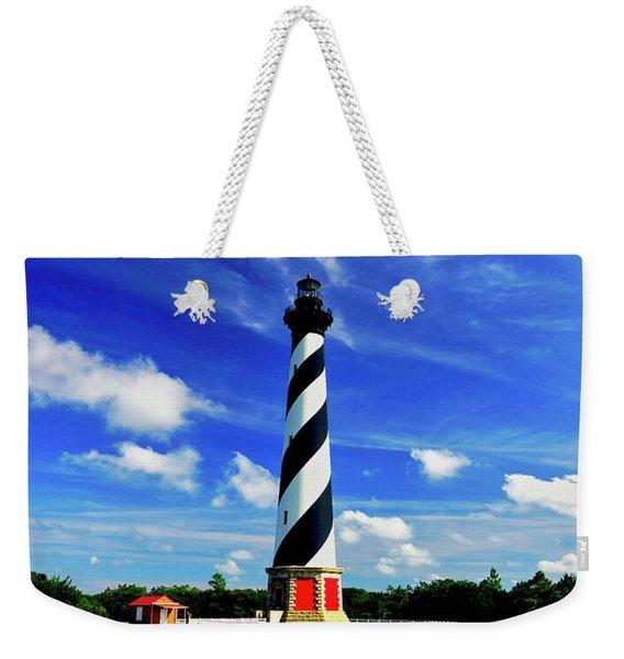 Cape Hatteras Lighthouse Weekender Tote Bag