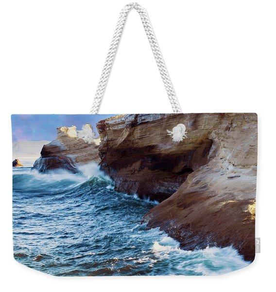 Cape Kiwanda Oregon V4 Weekender Tote Bag