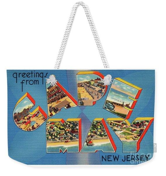 Cape May Greetings - Version 2 Weekender Tote Bag