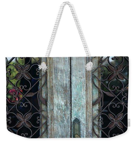 Capri Door Weekender Tote Bag