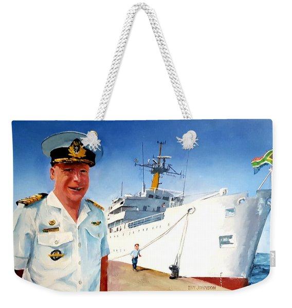 Capt Glen Hallett Weekender Tote Bag