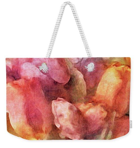 Captured Spring Weekender Tote Bag