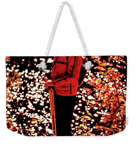 Capturing Autumn Light Weekender Tote Bag