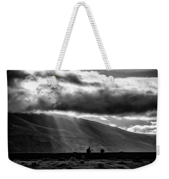 Capturing Rowena Weekender Tote Bag