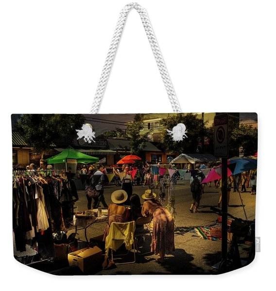 Weekender Tote Bag featuring the photograph Car-free Day No. 2 by Juan Contreras
