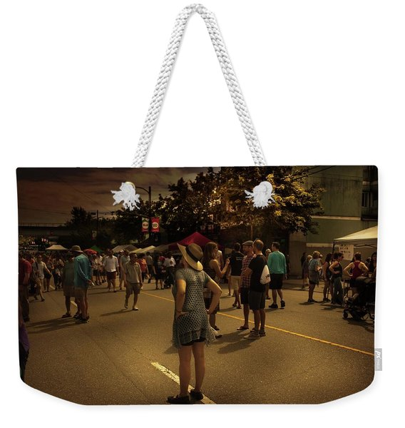 Weekender Tote Bag featuring the photograph Car-free Day No. 7 by Juan Contreras