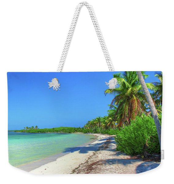 Caribbean Palm Beach Weekender Tote Bag