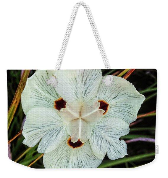 Caribbean Wildflower Weekender Tote Bag