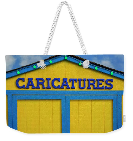 Caricatures Weekender Tote Bag