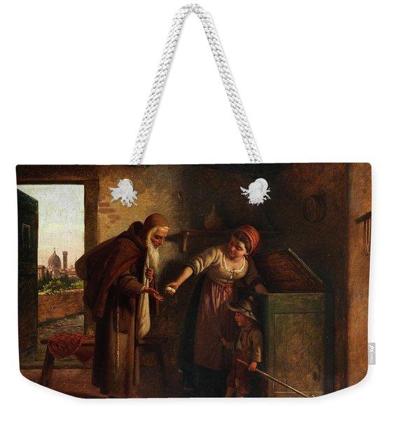 Caritas, Charity Weekender Tote Bag