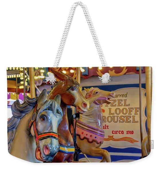 Carousel Friends Weekender Tote Bag