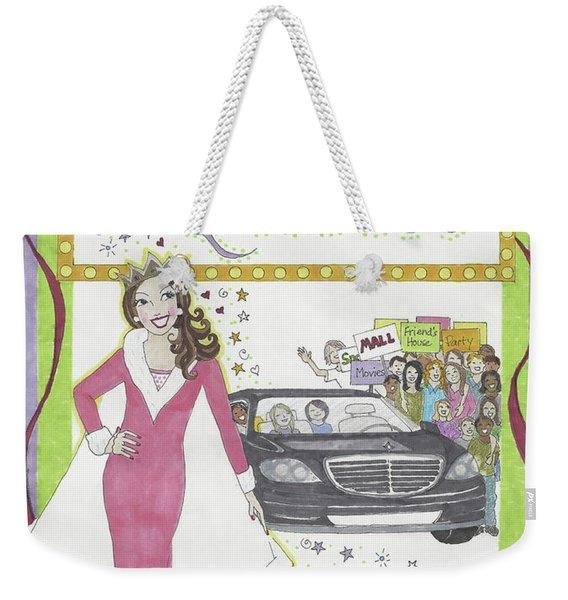 Carpool Queen Weekender Tote Bag