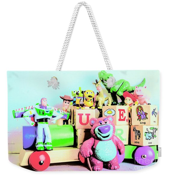Carriage Of Cartoon Characters Weekender Tote Bag
