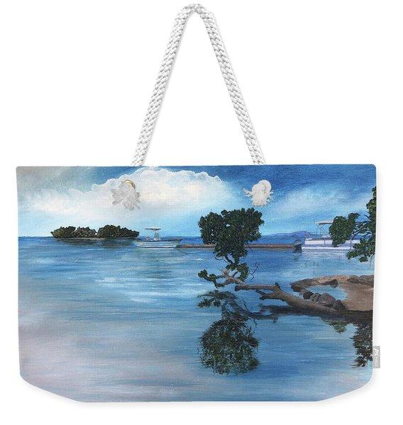 Caribbean Calm Weekender Tote Bag