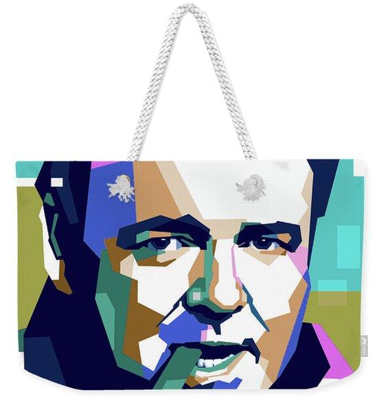 Carroll O'connor Weekender Tote Bag