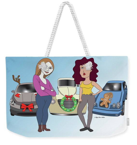 Cars Don't Tell Weekender Tote Bag