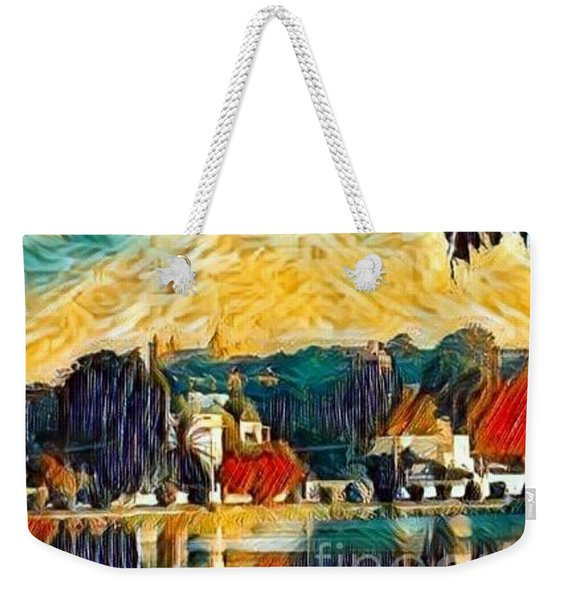 Weekender Tote Bag featuring the digital art Carthage by A zakaria Mami