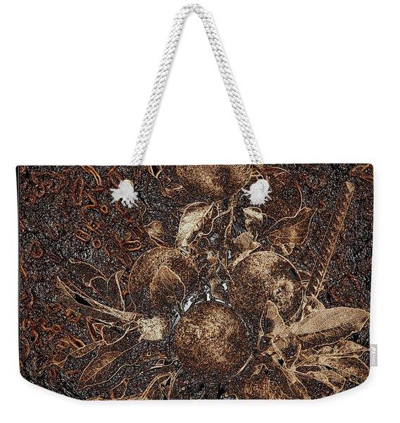 Carved Apples Weekender Tote Bag