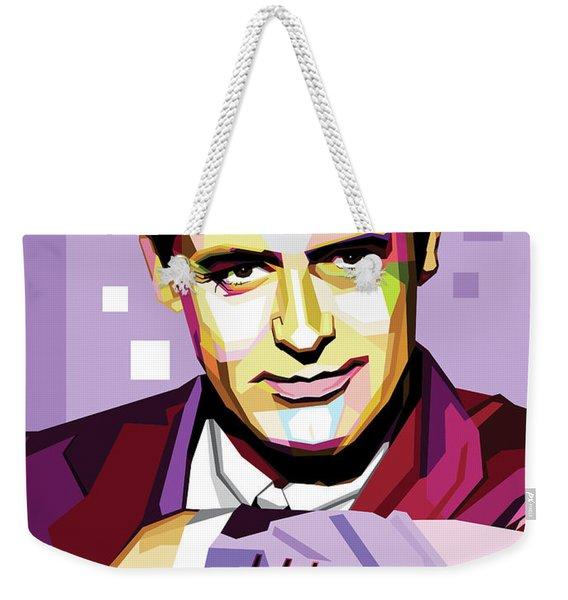 Cary Grant Pop Art Weekender Tote Bag