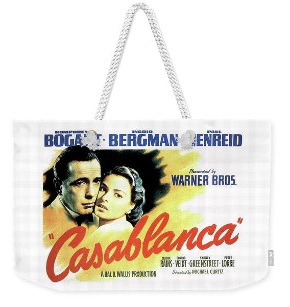 Casablanca Weekender Tote Bag