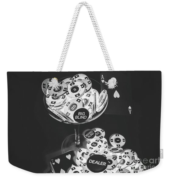 Casino Cocktail Weekender Tote Bag
