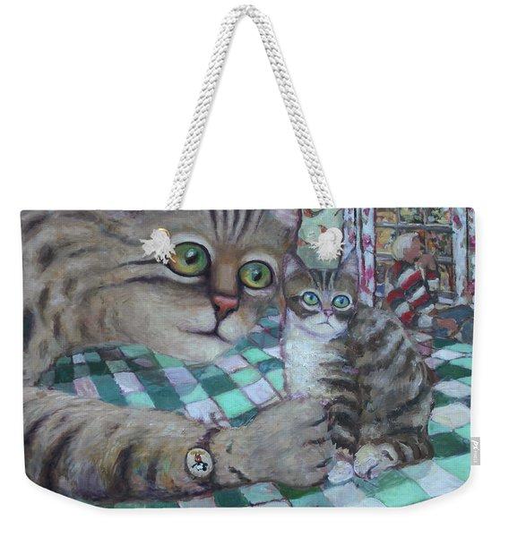 Cat Daddy Weekender Tote Bag