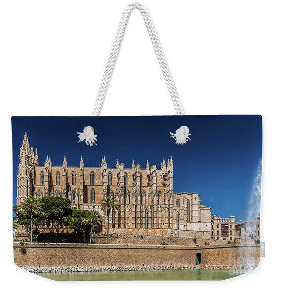 Catedral Basilica De Santa Maria De Mallorca, Spain Weekender Tote Bag