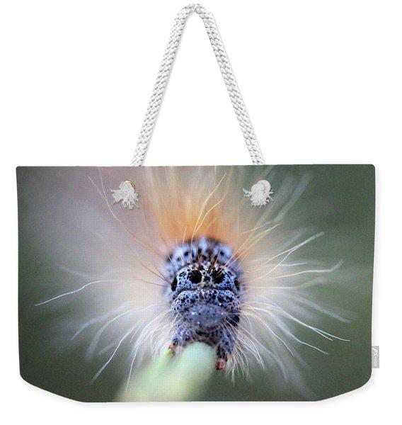Caterpillar Face Weekender Tote Bag