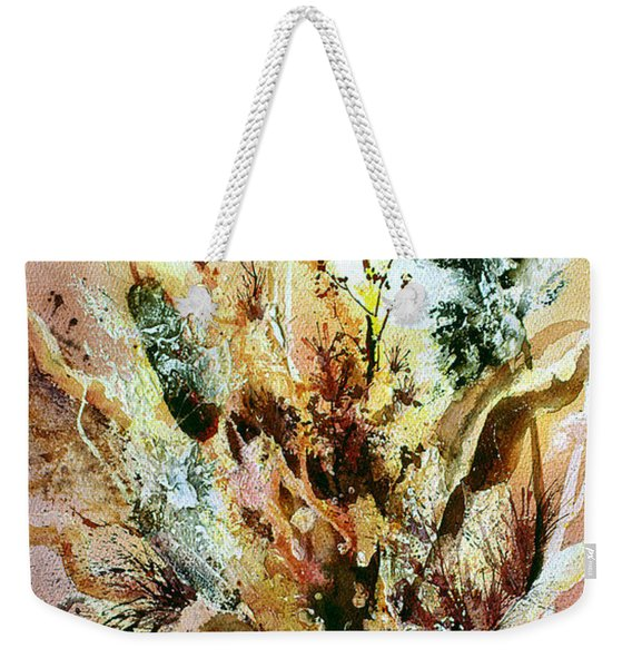 Cattail Fuzz Weekender Tote Bag