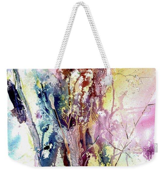 Cattail Color Weekender Tote Bag