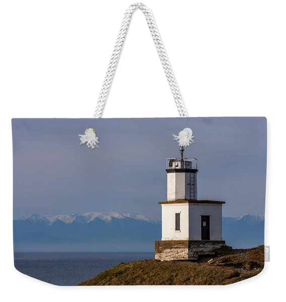 Cattle Point Lighthouse Weekender Tote Bag