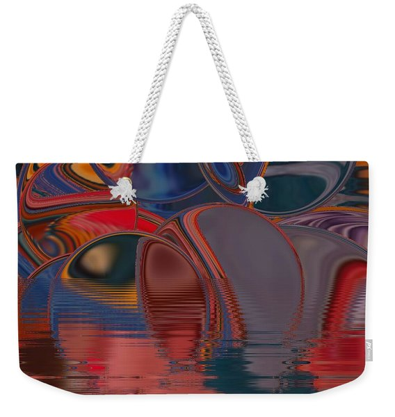 Weekender Tote Bag featuring the digital art Cave De Sensation by A zakaria Mami