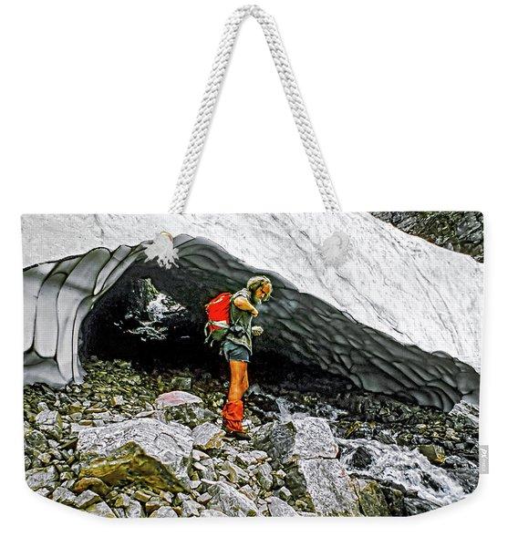 Cave Man Weekender Tote Bag