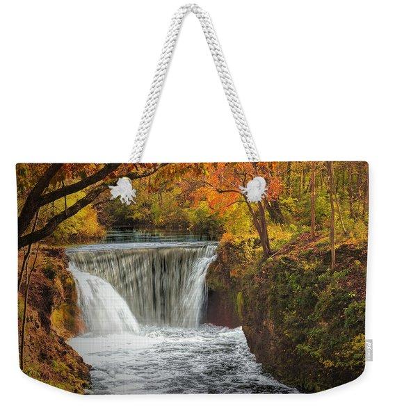 Cedarville Falls Weekender Tote Bag