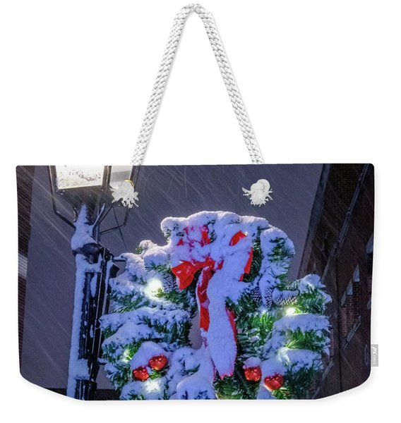 Weekender Tote Bag featuring the photograph Celebrate The Season by Jeff Sinon