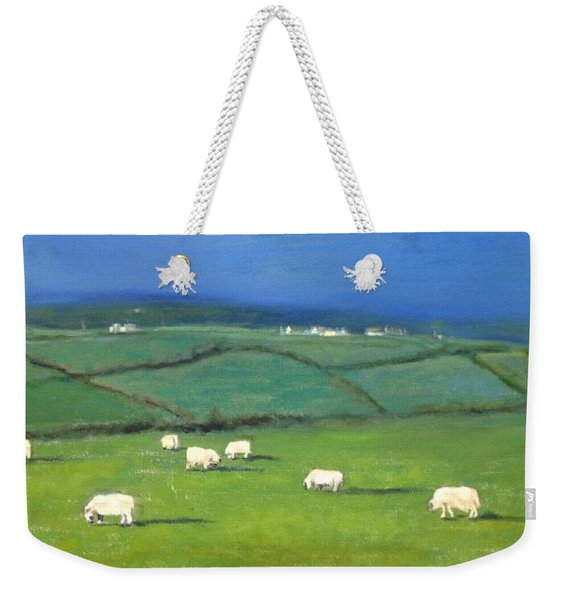 Celtic Sheep Weekender Tote Bag