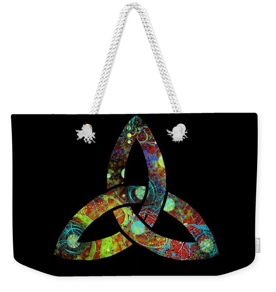 Celtic Triquetra Or Trinity Knot Symbol 1 Weekender Tote Bag