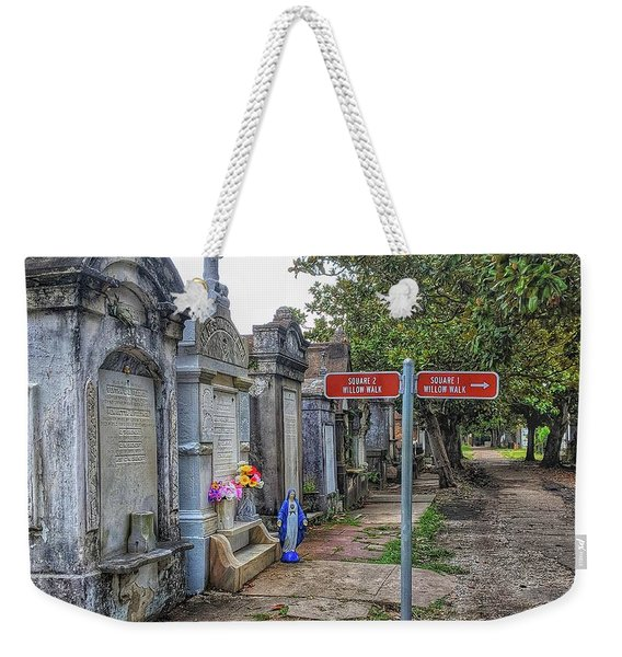 Cemetery #1 Weekender Tote Bag