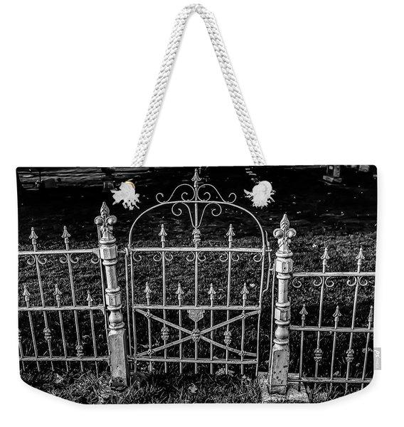 054 - Cemetery Gate Weekender Tote Bag