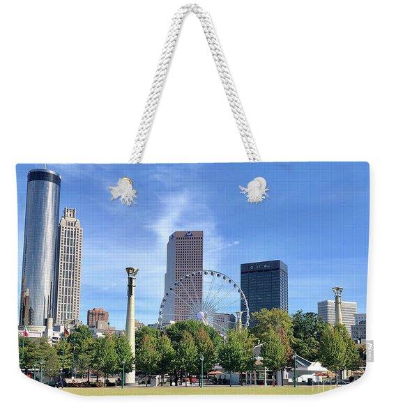 Centennial Olympic Park Weekender Tote Bag