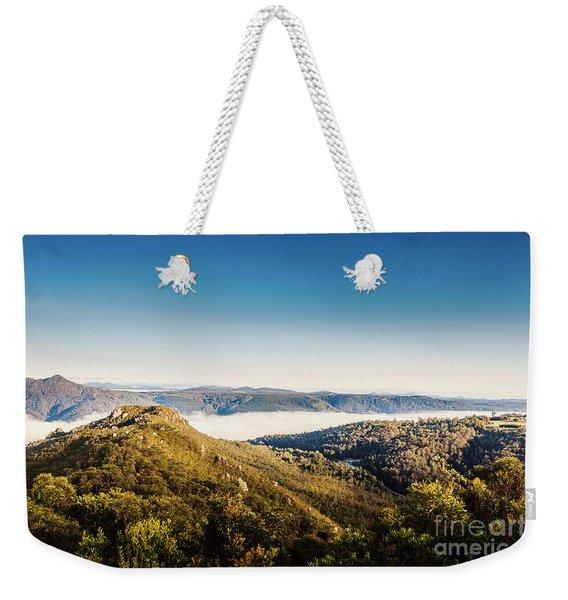Cethana Range Tasmania Weekender Tote Bag