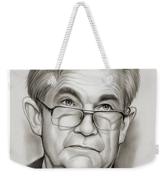 Chairman Powell Weekender Tote Bag