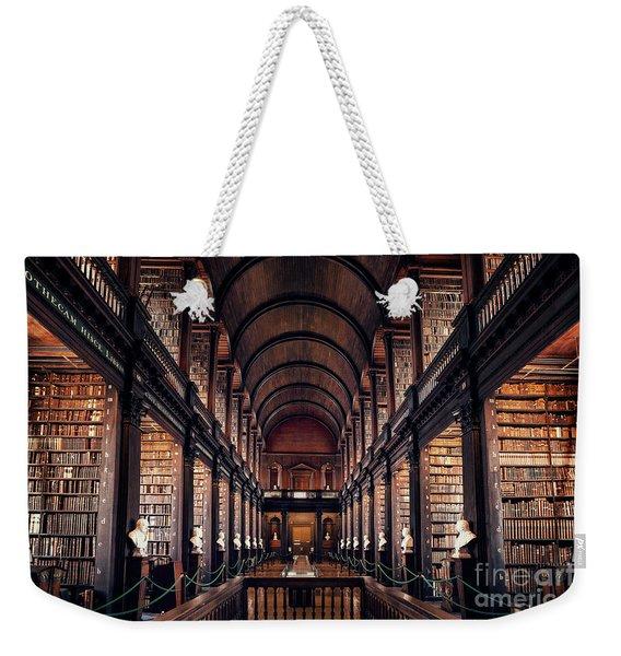 Chamber Of Eternal Wisdom Weekender Tote Bag