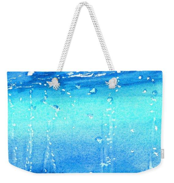 Champagne Sea 2 Weekender Tote Bag