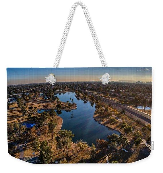 Chaparral Lake Weekender Tote Bag
