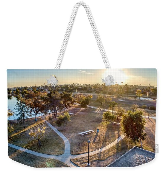 Chaparral Park Weekender Tote Bag