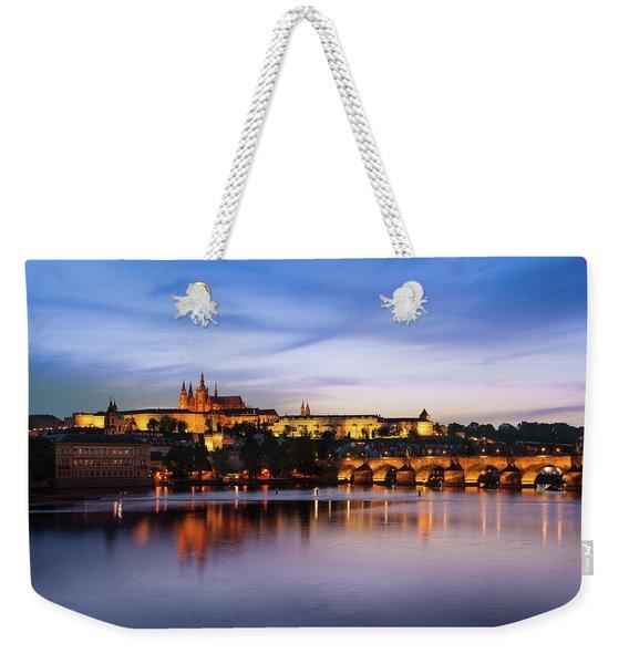 Charles Bridge Weekender Tote Bag
