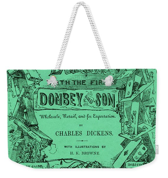 Charles Dickens  Dombey And Son Weekender Tote Bag