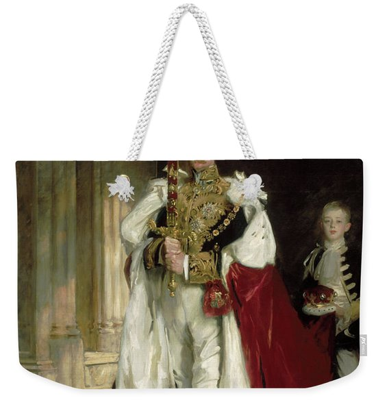 Charles Stewart, Sixth Marquess Of Londonderry, Carrying The Great Sword Of State, 1902 Weekender Tote Bag