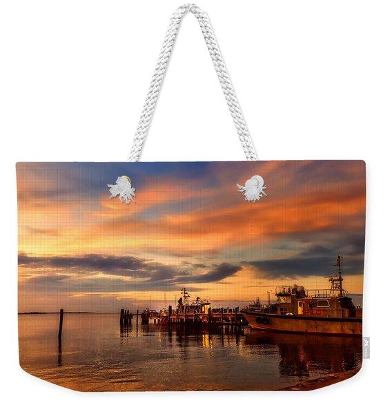 Charleston Dawn Weekender Tote Bag